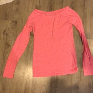 American eagle pink long sleeve tee